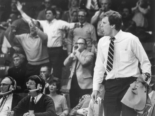Jim Crews was head coach for the University of Evansville Men's Basketball team from 1985-2002.