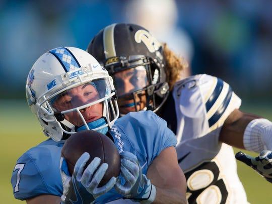 North Carolina Tar Heels wide receiver Austin Proehl