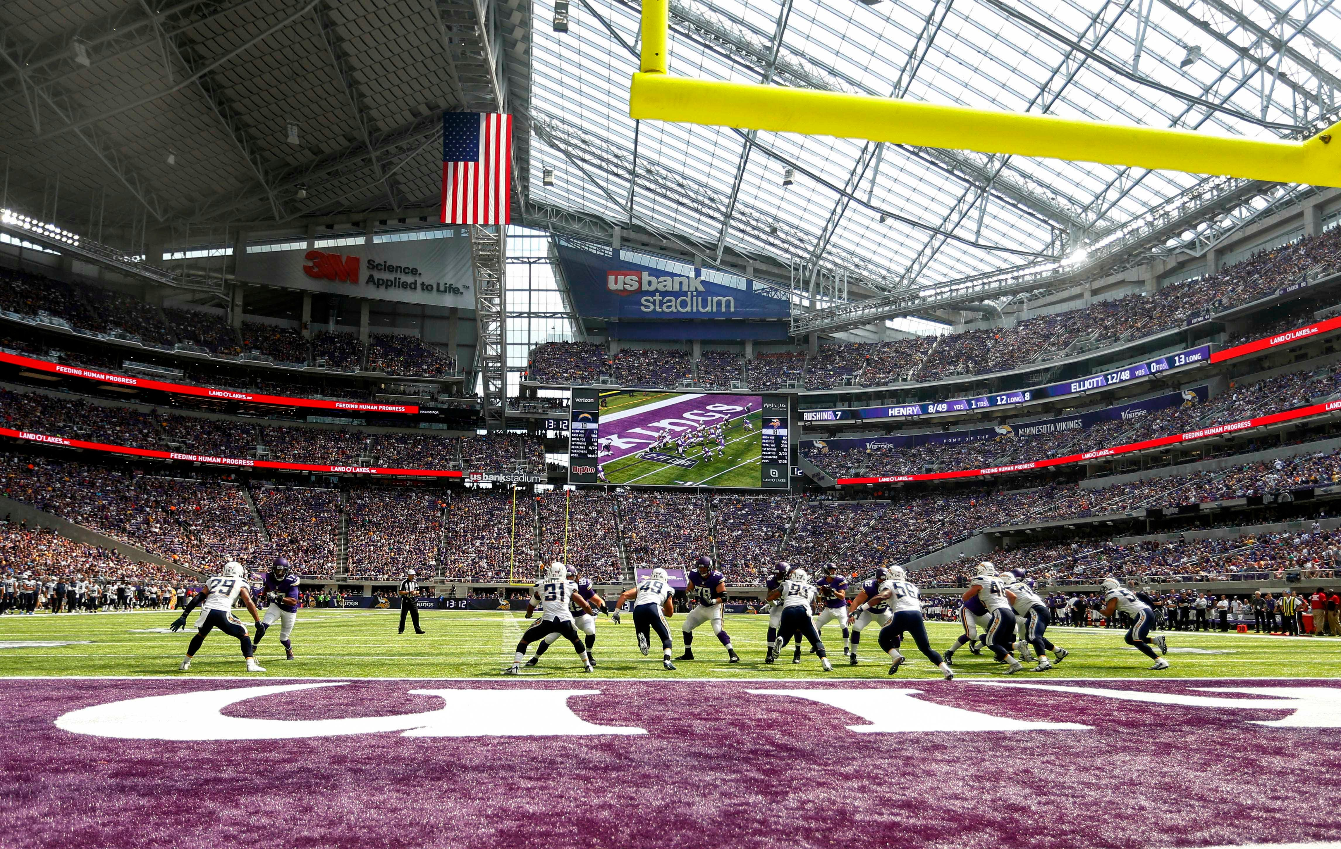Vikings Look Worthy Of Palatial New Stadium, Which Also Looks Strong In  Debut