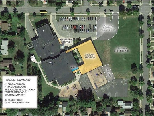 Construction has begun on renovations and additions to G.D. Jones Elementary in Wausau.