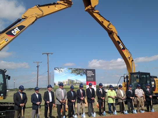 Officials from Texas State Technical College, the city