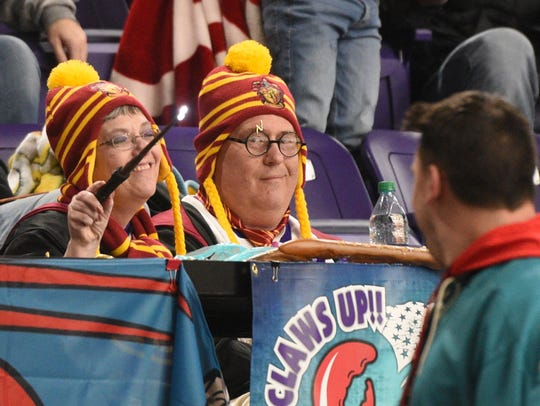 Harry Potter night at the Mudbugs as they face rival
