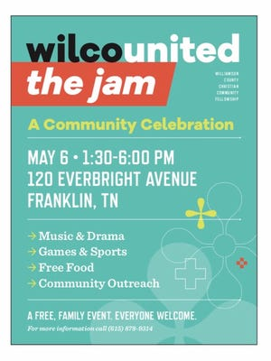 "Families are invited to attend ""The Jam,"" a community event hosted by Wilco United."