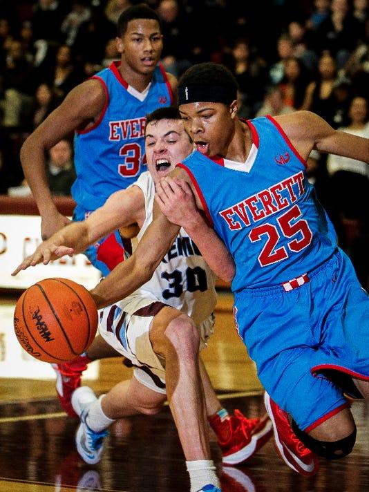 Everett vs. Okemos - Boys Basketball
