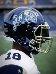 735cc954a Navy unveils spectacular uniforms inspired by Bill the Goat for Army game