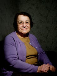 Blanca Simonian poses for a portrait at the Knox County