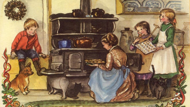 The Tasha Tudor Cookbook Lecture and Brunch will he held at 10 a.m. Nov. 18 at Oddfellows Gallery in downtown Hattiesburg.