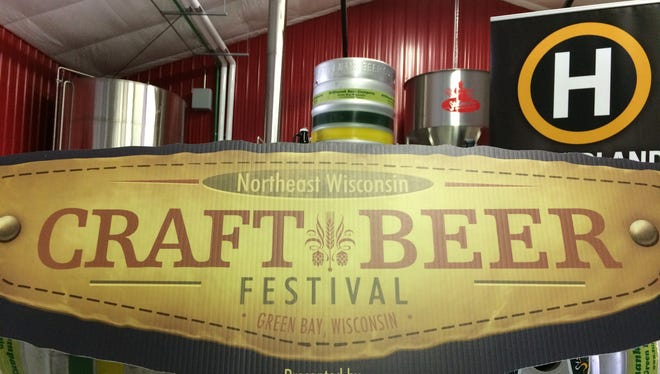 The Northeast Wisconsin Craft Beer Festival will feature a collaborative brew from all four Green Bay breweries.