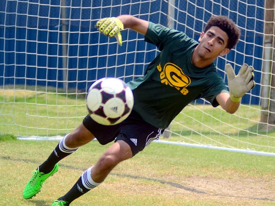 Gallatin High senior Deonta Kensinger helped lead the Green Wave to five shutouts this season.