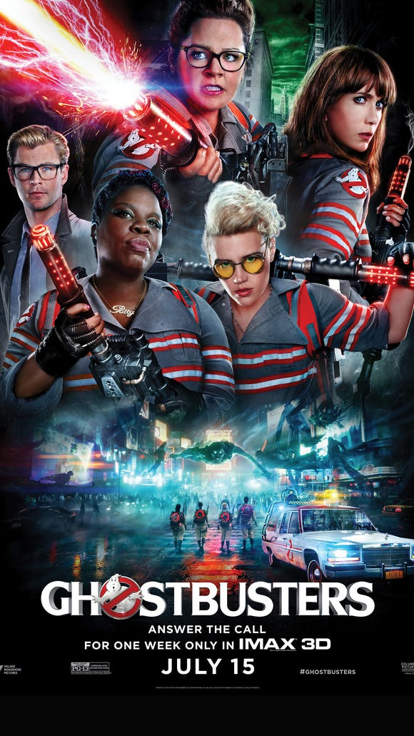 The gang's all here in this exclusive IMAX 'Ghostbusters'