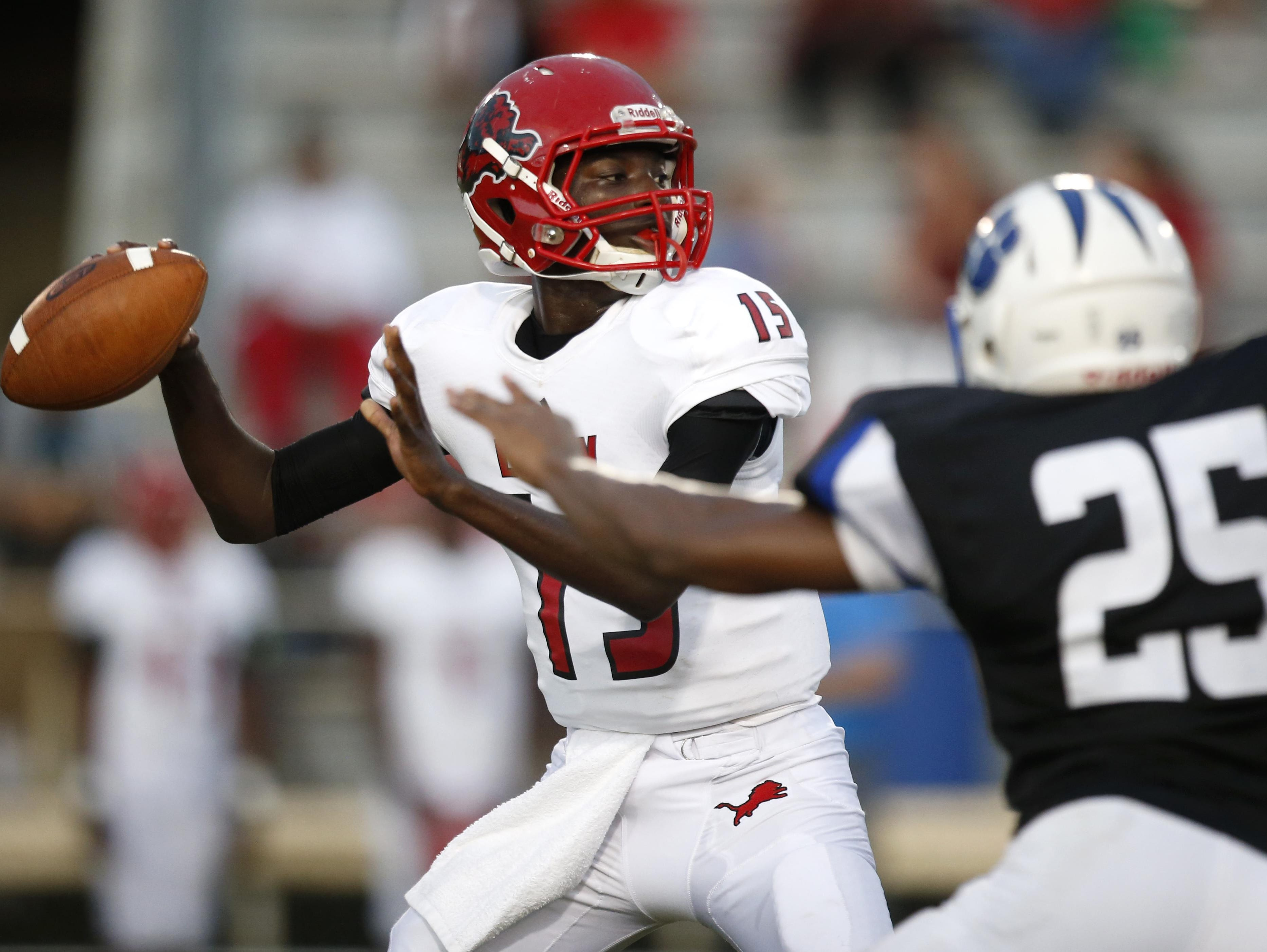 Leon quarterback Ty Glasco will be called upon heavily in Friday night's game against Lakeland Kathleen.