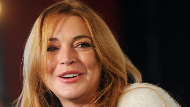 Lindsay Lohan, shown at  the 2014 Sundance Film Festival in Park City, Utah, has a beef with a video game.