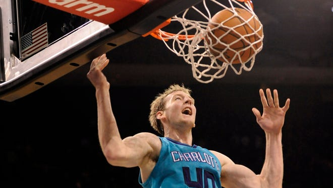 Second-year pro Cody Zeller is averaging 8.7 ppg and 5.4 rpg for the Hornets.