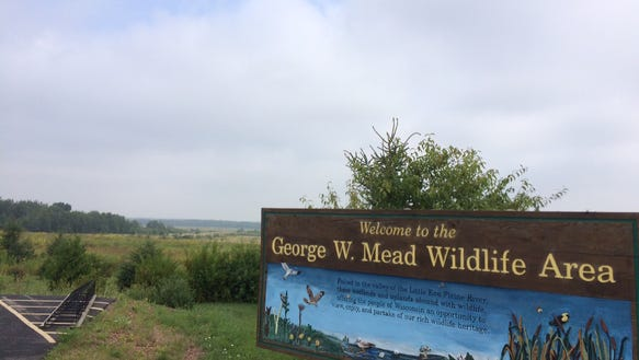 The George W. Mead Wildlife Area is 33,000 acres sprawling