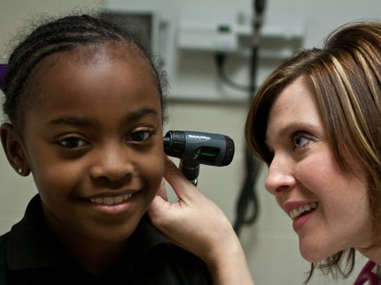 Mandy Braswell, pediatric nurse practitioner at the