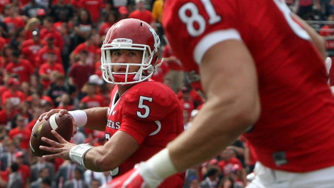 Rutgers quarterback Chris Laviano started 11 games last season but is going to have to win back his job.