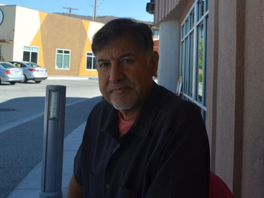 Victor Robinson at one of his favorite breakfast places in midtown. Reno, NV. (Photo: Sudhiti Naskar/RGJ)