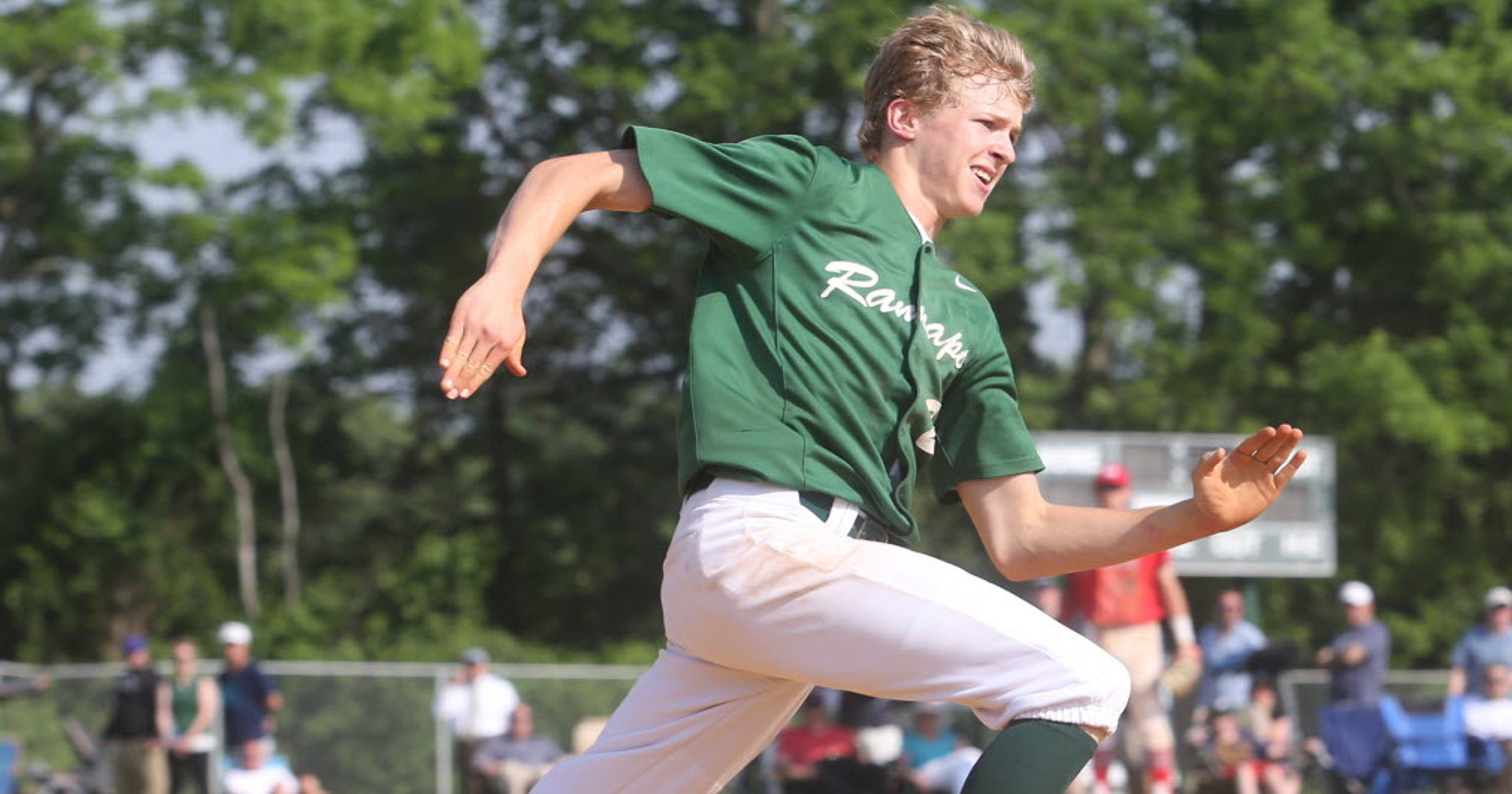 K C  Hunt of Ramapo High School was born to play baseball