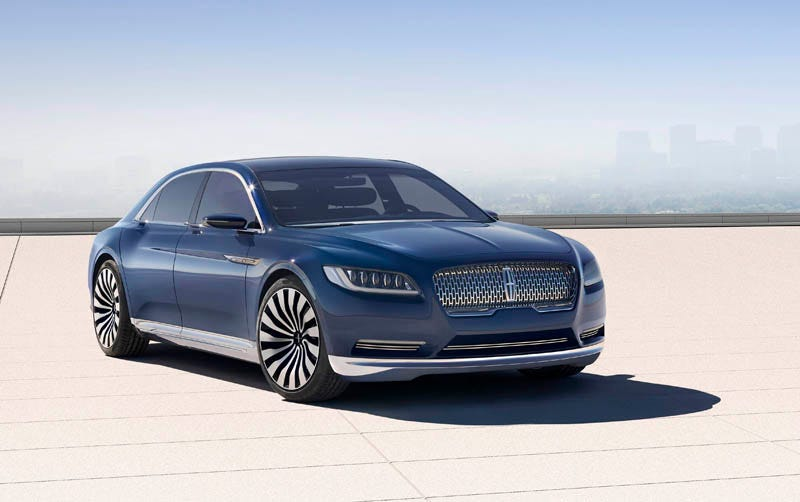 New lincoln continental concept