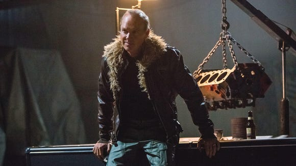 Adrian Toomes (Michael Keaton) and his supervillain crew use his job as a salvager to pick up alien junk and build fantastic weapons.