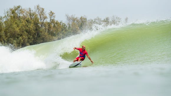 How Kelly Slater took surfing out of the ocean and onto dry land