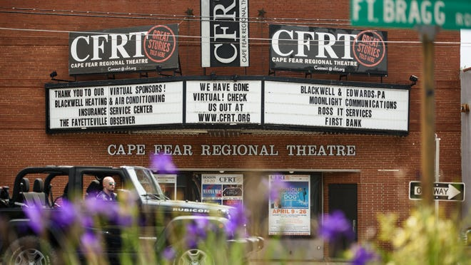 Cape Fear Regional Theatre is located at 1209 Hay St. in Fayetteville.