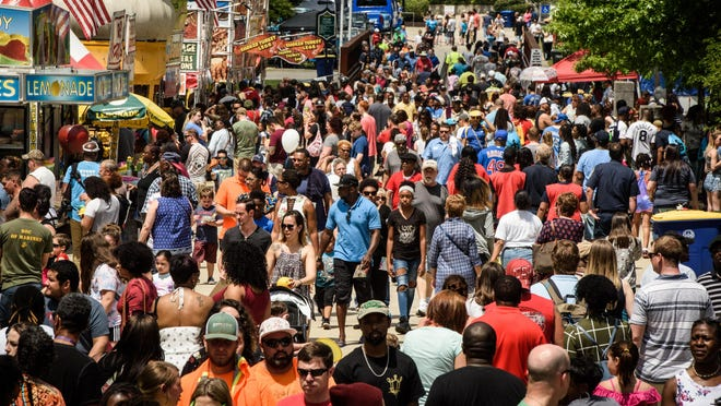 Because of the pandemic, the Dogwood Festival, which was scheduled for the last weekend of April, was rescheduled to Oct. 13-15. Organizers had planned, among other things, a concert series, carnival rides, and arts and crafts displays. That was then canceled, too.