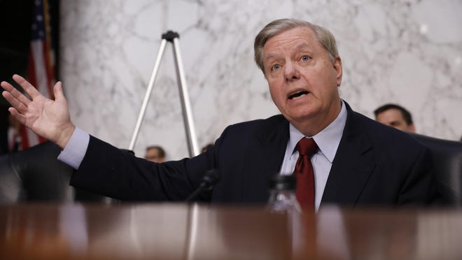 Lindsey Graham, now a Republican senator from South Carolina, was a member of the U.S. House of Representatives at the time of President Bill Clinton's impeachment.