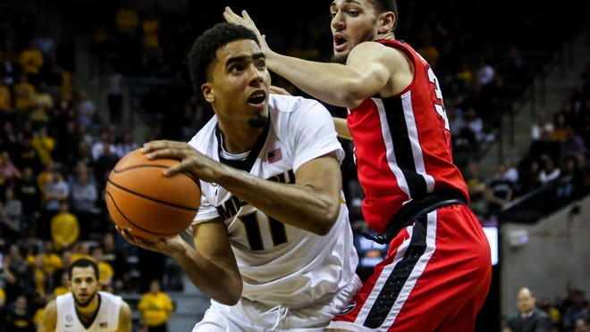 Missouri forward Jontay Porter (11) looks to shoot during a Southeastern Conference game against Georgia on Jan. 10, 2018, at Mizzou Arena. Porter is one of four former Tigers on rosters for the restarted NBA season set to start later this month in Orlando.