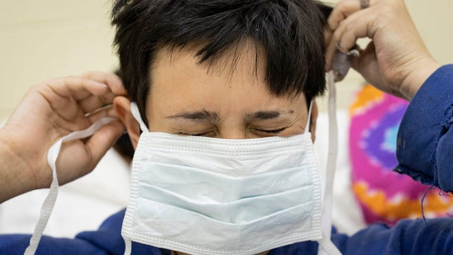 Hospitals and medical facilities vary in their policies on on-site mask usage to limit the potential spread of coronavirus, a particular concern for patients whose immune systems are weakened.