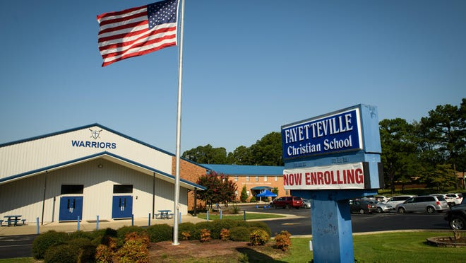 Fayetteville Christian School enrolled the sixth most students through the state's voucher program last school year.