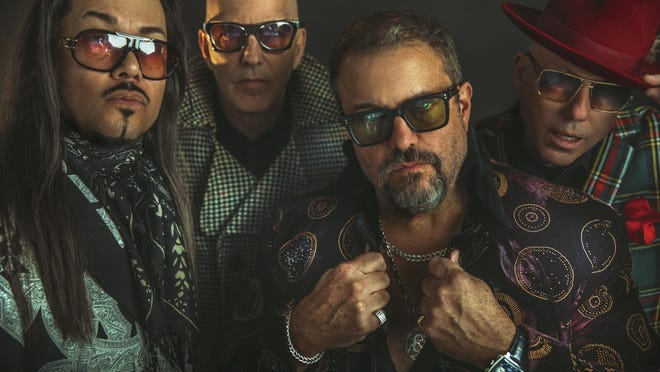"""The Mavericks -- Eddie Perez, from left, Paul Deakin, Raul Malo and Jerry Dale McFadden -- will tape """"Austin City Limits"""" for the third time on Tuesday."""