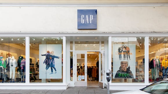 You can take 50% off anything at the Gap right now for Cyber Week.