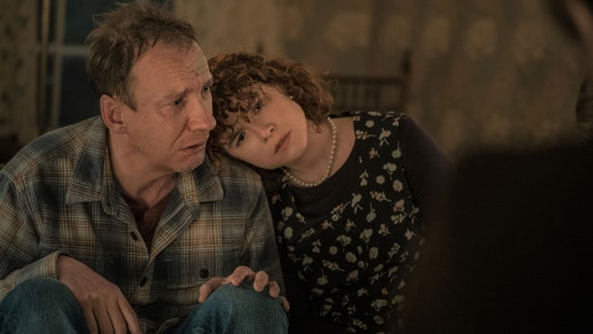 """David Thewlis and Jessie Buckley in """"I'm Thinking of Ending Things"""""""