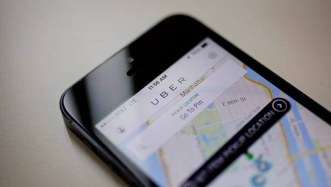 The app-based car ride service Uber is legal in South Carolina — for now — after state regulators Thursday granted the Silicon Valley-based company a temporary license to operate.