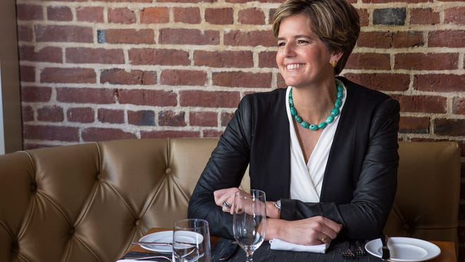 Stylemaker Sarah Robbins works at 21c Museum Hotel as an authority on the look and feel of the dining experiences and decor.