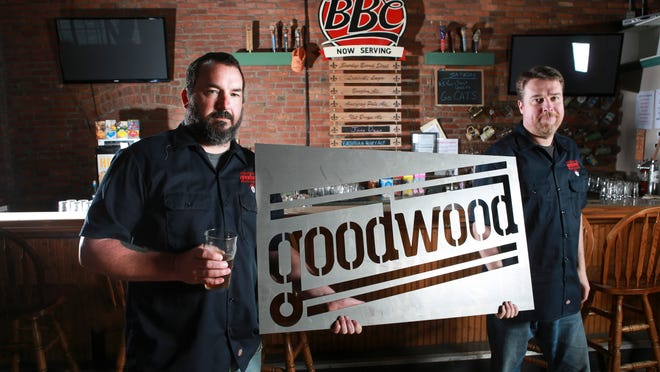 Phillip Dearner, left, and Joel Halbleib will be the new owners at Goodwood which will be operating out of the former BBC location at Clay and Main in downtown Louisville. April 6, 2015
