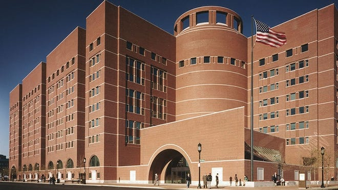 The John Joseph Moakley United States Courthouse in Boston.