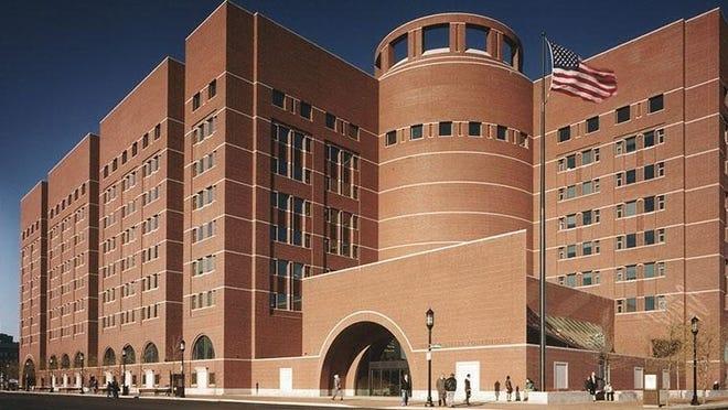 The John Joseph Moakley United States Courthouse in Boston. File photo