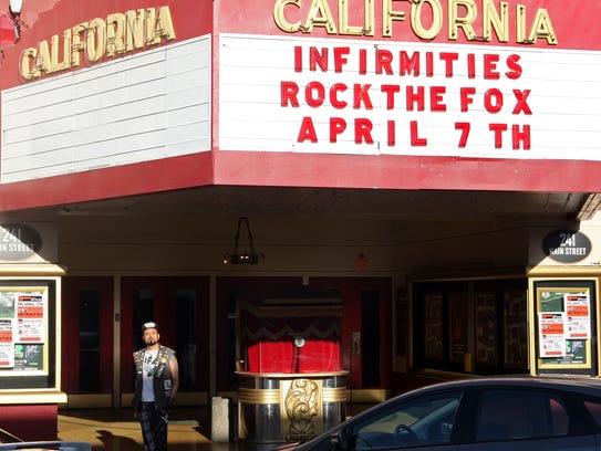 Jason Martinez at the Fox Theater, Salinas