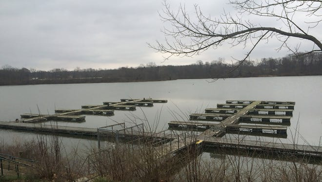 The docks at Middlefork Reservoir soon will be undergoing repairs. The reservoir opens for boat traffic April 15.