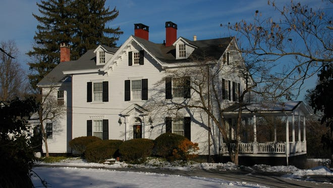 The Elliot-Buckey House was once the centerpiece of a large estate in Marlboro named Riverview.