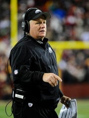 Former Oregon head coach Chip Kelly is now in the NFL