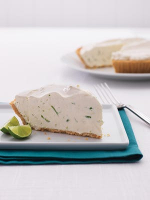 Lime Pie with Vanilla-Cookie Crust takes about 10 minutes to prepare and 40 minutes to chill.