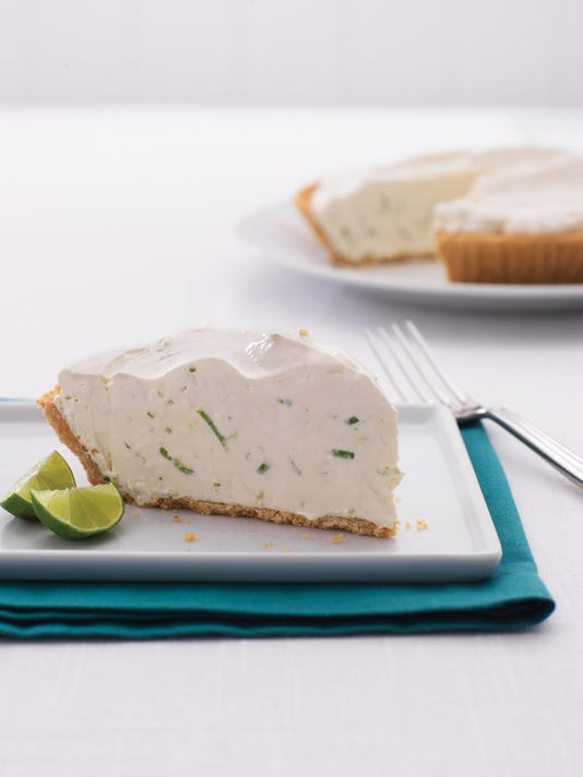 Lime Pie with Vanilla Cookie Crust