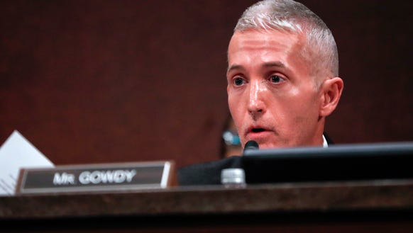 Rep. Trey Gowdy is pictured May 23, 2017 during a congressional