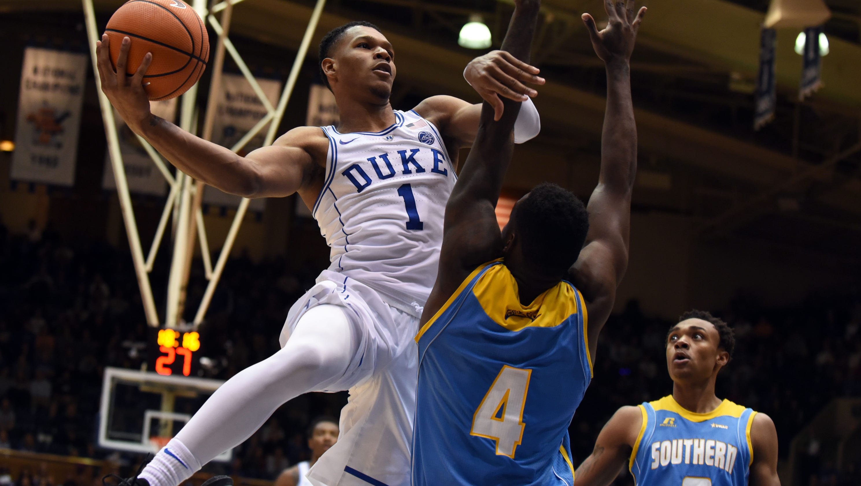 Duke remains No. 1 in latest USA TODAY men's basketball poll