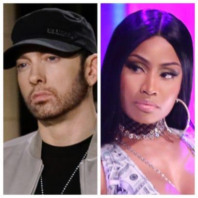 Grapevine: Eminem and Nicki Minaj dating?