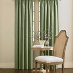 Window treatments should be cleaned once or twice a year and the best method varies by material. Light, sheer curtains can be machine washed and dried.