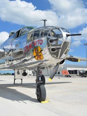 The WWII B-25 bomber Panchito will return to the Aviation Heritage Center July 23 and 24. For information or to sign up for rides ($425), call the Center at 920-467-2043. Limited seats are available.